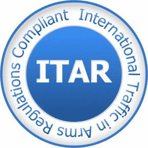 ITAR Registration Compliant Seal